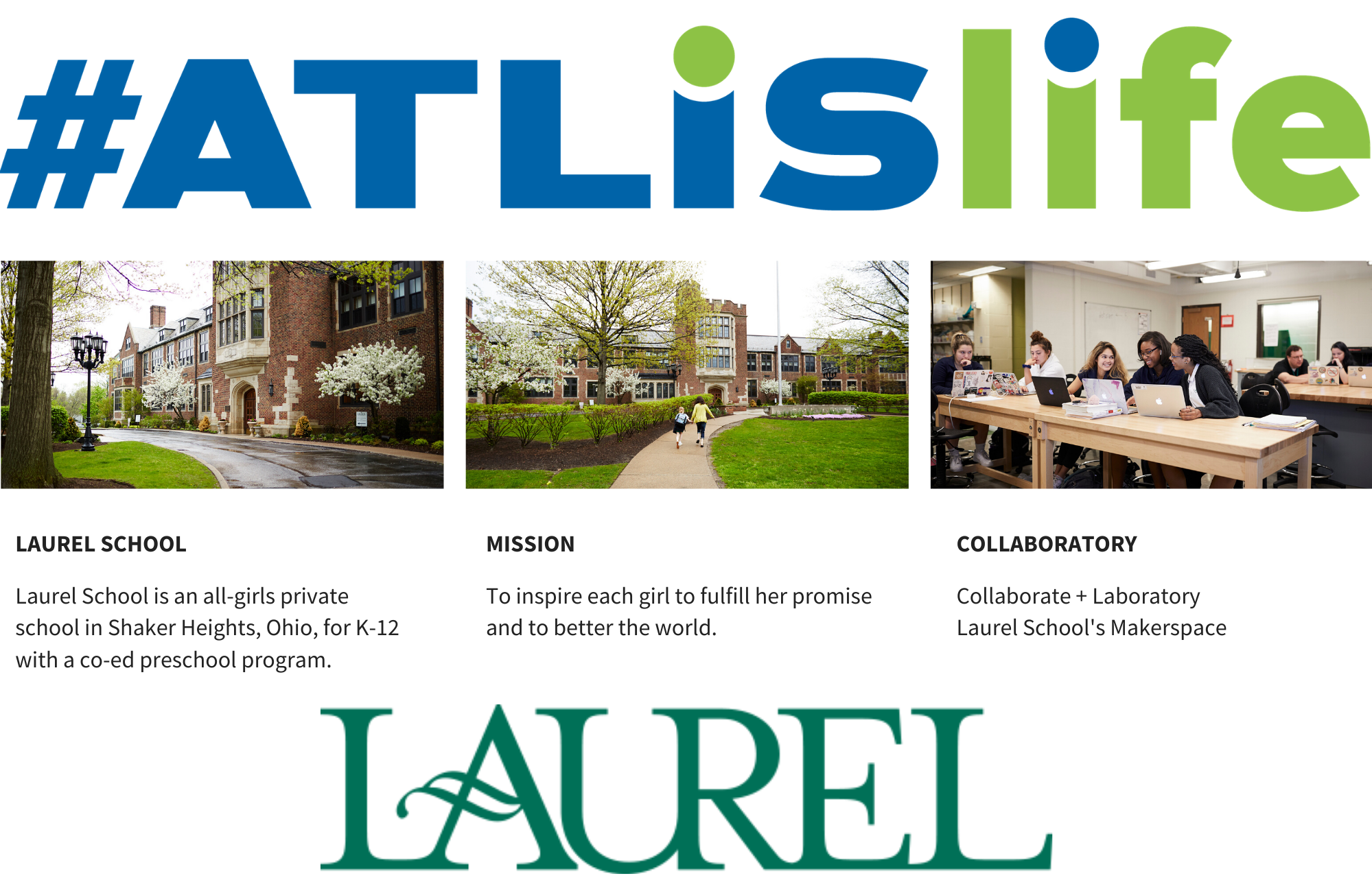 #ATLISlife Laurel School Feature