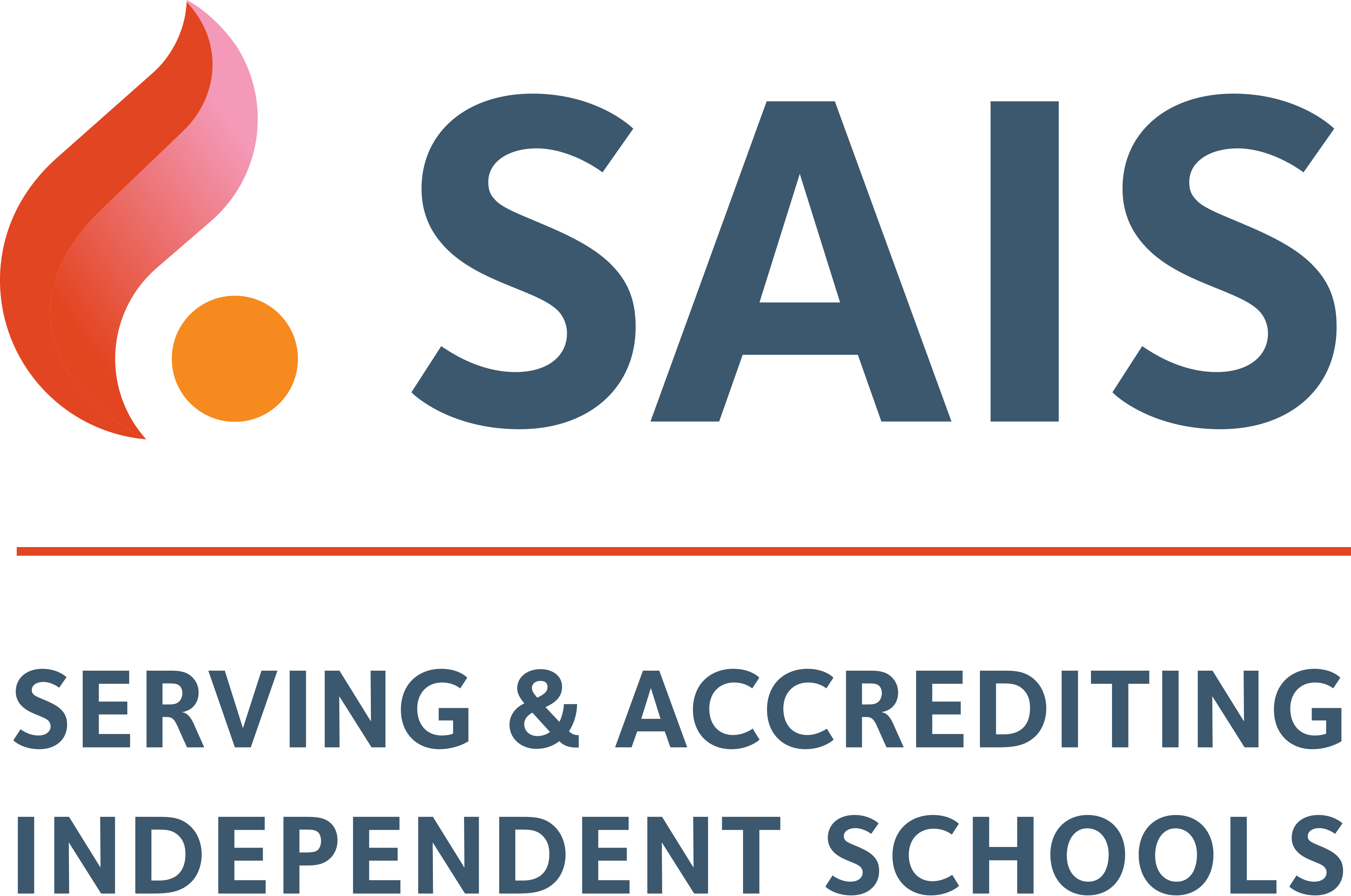 SAIS Logo (Serving & Accrediting Independent Schools)