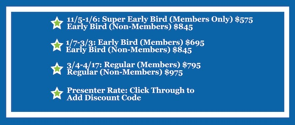annual conference pricing
